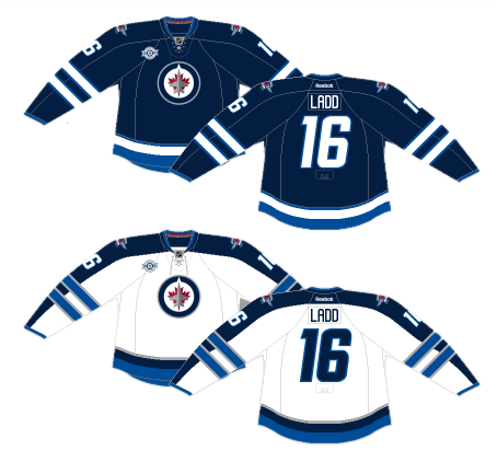 los angeles ad7f0 ff7f3 Worst to First Jerseys: The Winnipeg Jets | Hockey By Design