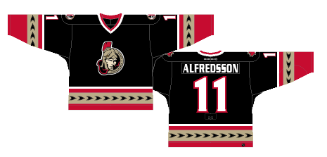 huge discount 9e2c6 ee893 Worst to First Jerseys: Ottawa Senators (Redux) | Hockey By ...