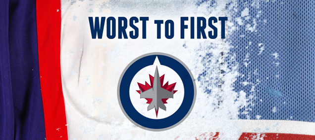 los angeles 50489 10c25 Worst to First Jerseys: The Winnipeg Jets | Hockey By Design