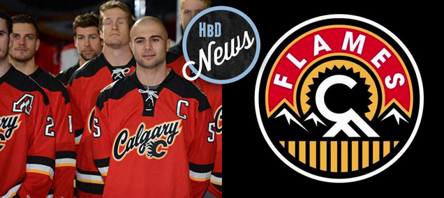 HbD News  New Calgary Flames  Third Jersey Announced  1e41707a6