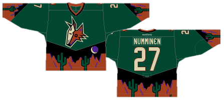 44636cd2e From Awful to Artistic: Best and Worst Phoenix Coyotes Jersey ...