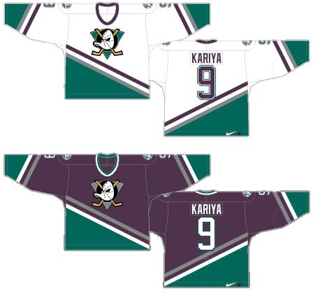 Worst to First Jerseys  Anaheim Ducks (Redux)  f331bfae9
