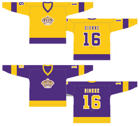 low priced de0ee e1d27 Worst to First Jerseys: The Los Angeles Kings   Hockey By Design