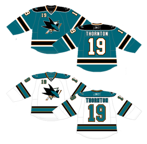 huge selection of 163ed 2f0d5 Worst to First Jerseys: San Jose Sharks (Redux) | Hockey By ...