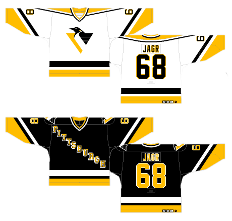 Worst to First Jerseys  Pittsburgh Penguins (Redux)  16d51b644