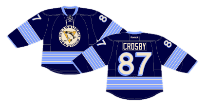 The Penguins  second Winter Classic participation brought a historical  jersey that was more of a mishmash of different historical elements than  reminiscent ... 240f1413b
