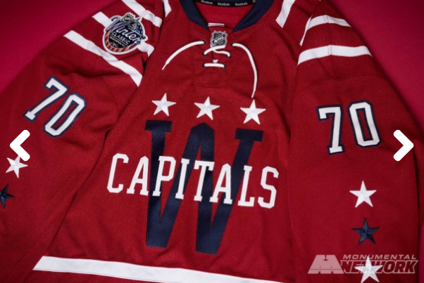 best service a74f9 3807d Worst to First Jerseys: Washington Capitals | Hockey By Design