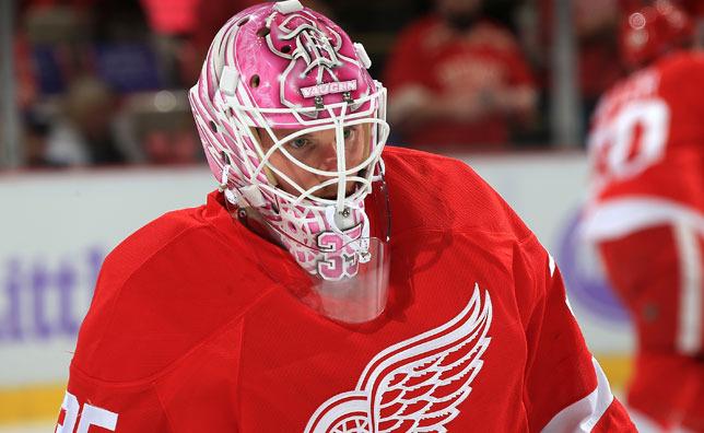 6d8a51f06 Hockey Fights Cancer  Goalie Masks