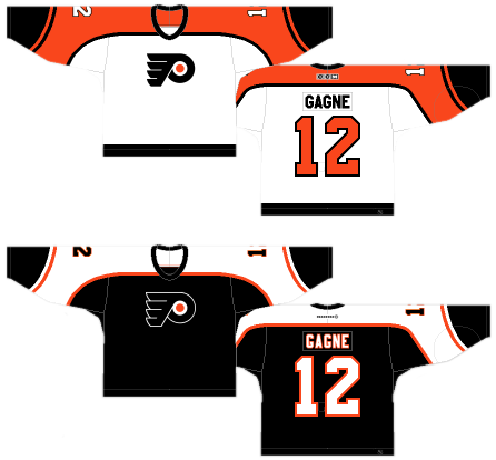 f57ab71ee6a I was going to bring this up when discussing the previous jerseys, but I  thought I'd save it for this one. The Flyers logo is awesome (being ranked  at #3 on ...