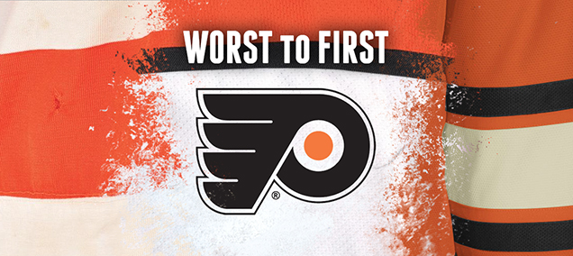 289b26e43b2 Philadelphia-636 This instalment of the Worst to First Jerseys features the Philadelphia  Flyers.