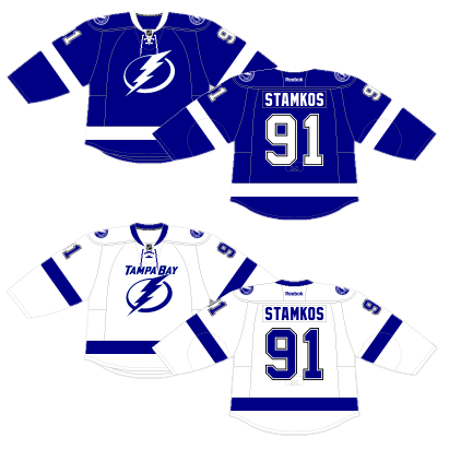 0075bfcc119 For a few blissful years, from 2011–14, Tampa Bay didn't have a black  jersey. Their third jersey was predominantly blue, and this sharp-looking  home and ...