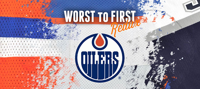 Worst to First Jerseys  The Edmonton Oilers (Redux)  425434692