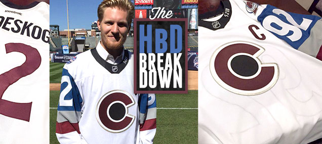 HbD Breakdown  Avalanche Stadium Series Jerseys  d6cceee78