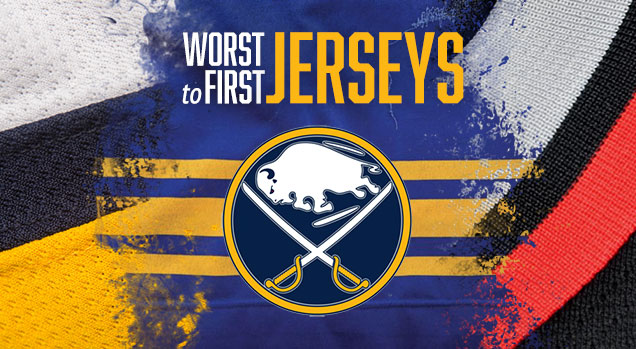 wholesale dealer 89735 e9379 Worst to First Jerseys: Buffalo Sabres | Hockey By Design
