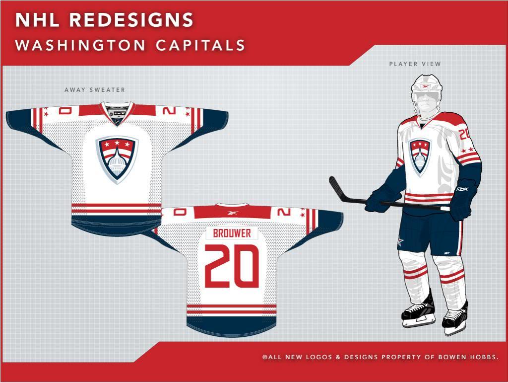 Top 5  Washington Capitals Logo Concepts  b683ad1212d