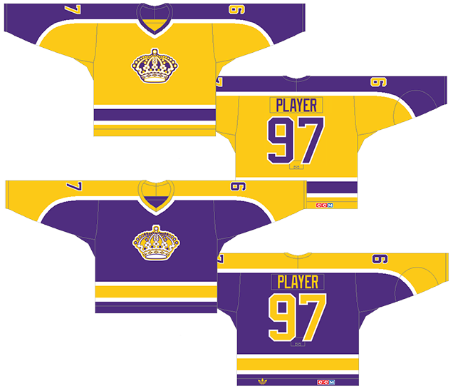bb93506c633 Worst to First Jerseys  The Los Angeles Kings (Redux)