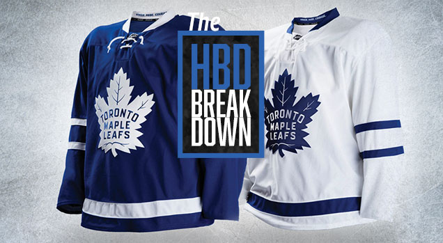 new products 8cc88 41e06 HbD Breakdown: Toronto Maple Leaf Jerseys | Hockey By Design