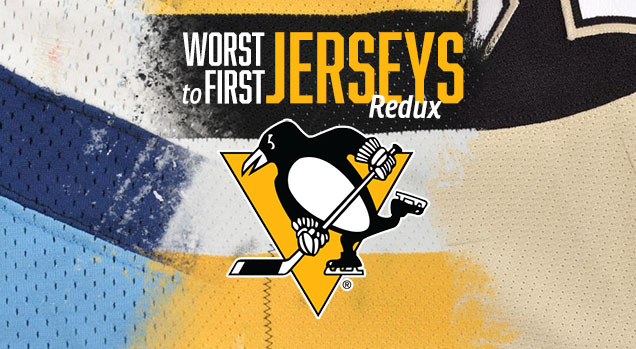 new product ef87c efda2 Worst to First Jerseys: Pittsburgh Penguins (Redux) | Hockey ...
