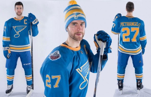 on sale dd3e8 3484a blues alumni game jersey