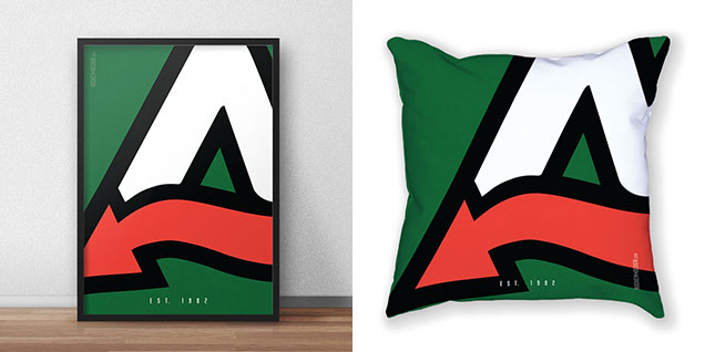 greendevil-pillowposter
