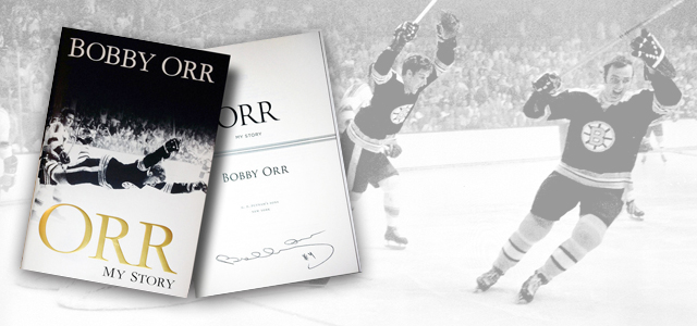during his playing years the tight lipped bruins legend was never one to indulge the media with personal details but in 2013 bobby orr finally penned and