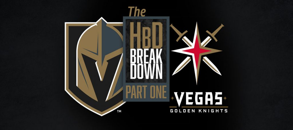 HbD Breakdown: Vegas Golden Knights (Name and Wordmark ...