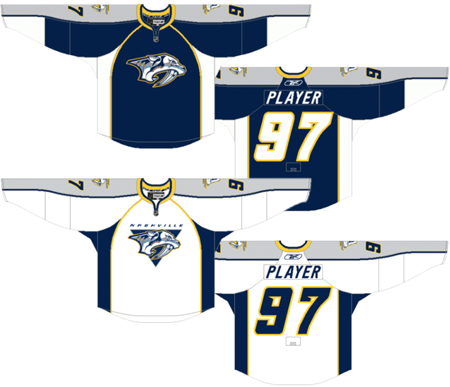 Worst to First Jerseys  Nashville Predators  4c230f443