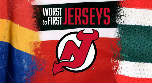 pretty nice 1daae 5b469 Worst to First Jerseys: New Jersey Devils | Hockey By Design