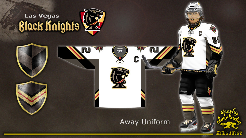 254d9584 Top 5: Vegas Golden Knights Logo Concepts (Part 1) | Hockey By Design