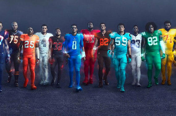 Nfl Color Rush 2020.What If More Teams Embraced Color Hockey By Design
