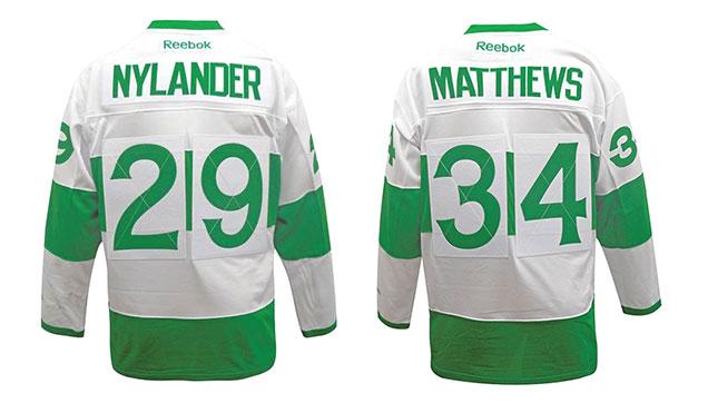 finest selection 75f4a 34536 HbD Breakdown: Maple Leafs' St Pats Jerseys | Hockey By Design