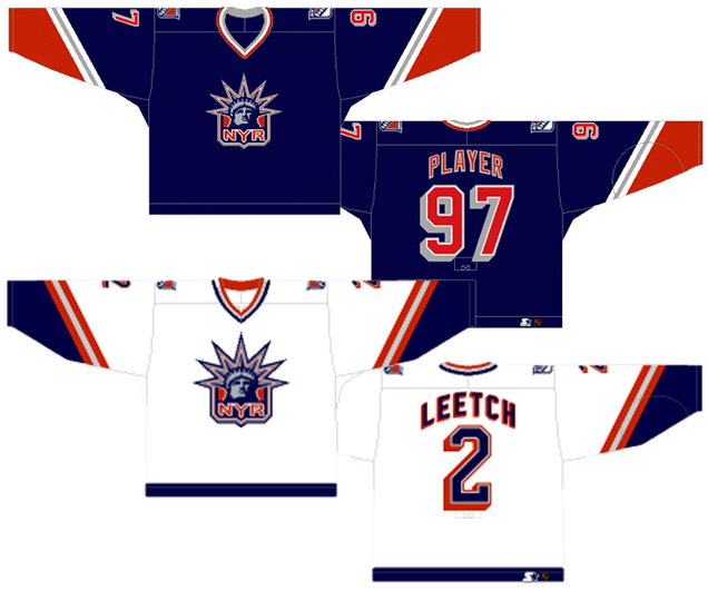 The Rangers haven t had many third jerseys in their existence 3a817814e