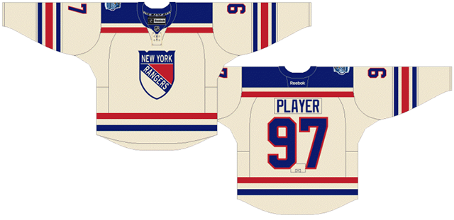 the best attitude cd6a1 39270 Worst to First Jerseys: New York Rangers | Hockey By Design