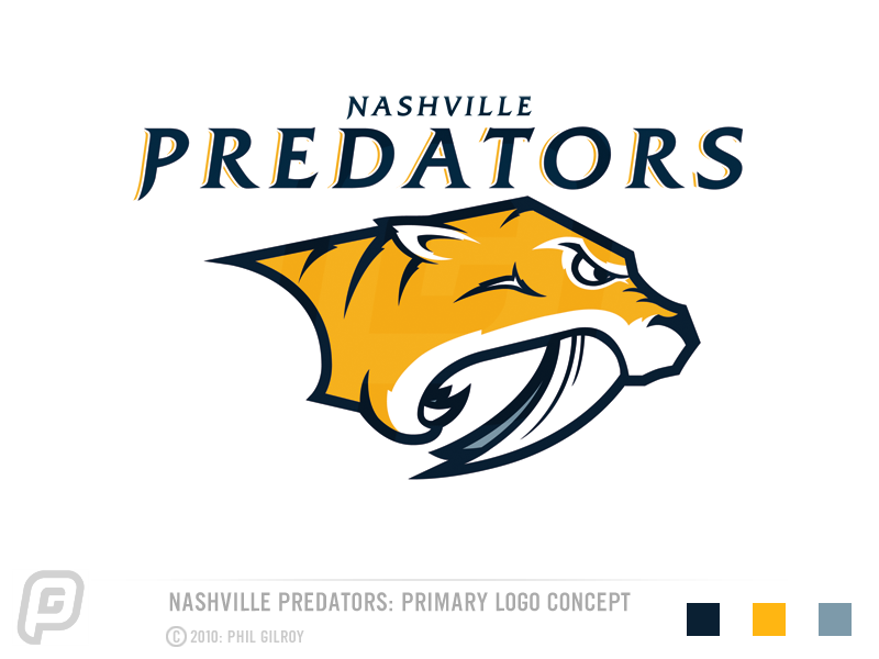 Top 5: Nashville Predators Logo Concepts | Hockey By Design