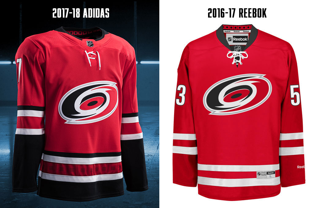 2017 nhl jersey changes
