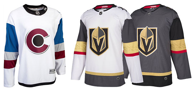 huge selection of c7ce0 f4473 HbD Breakdown: Vegas Golden Knights Jerseys | Hockey By Design