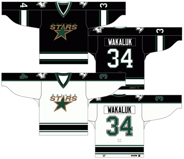 969c766ec5a Some people forget that when the Minnesota North Stars first moved to  Dallas to become the Dallas South Stars, the jerseys didn't change at all.
