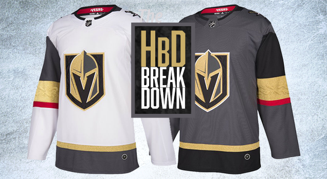 huge selection of 9574d 81694 HbD Breakdown: Vegas Golden Knights Jerseys | Hockey By Design