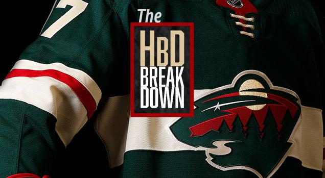 new style 04077 e5013 HbD Breakdown: Minnesota Wild Home Jerseys | Hockey By Design