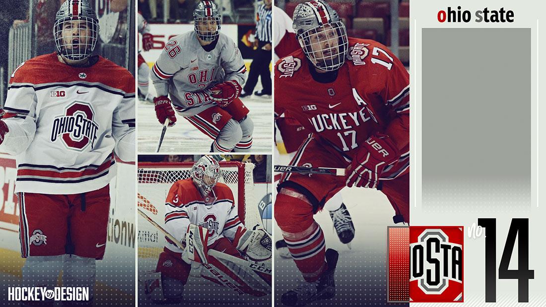 on sale b9bc1 efc0b College Hockey Uniform Rankings: #20–#11 | Hockey By Design