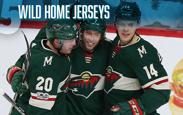 Like The Rest Of Their Hockey Jerseys From Past Few Seasons Wild S New Home Continue A Trend Finding Balance Between Modern And