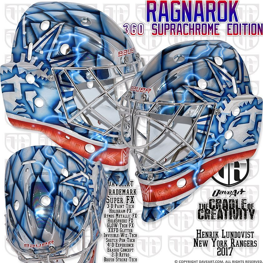 timeless design d5ceb 91d9e HbD Masks: 2018 Winter Classic Masks | Hockey By Design