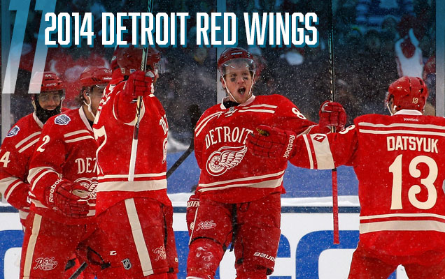 2c8a021ee The Red Wings  second entry into the Winter Classic jersey archive is miles  ahead of their first one