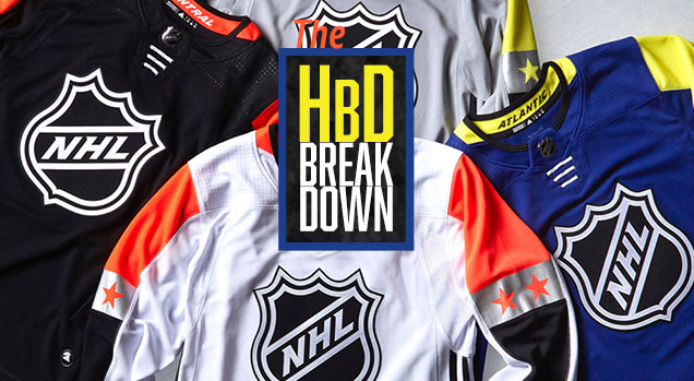 HbD Breakdown  2018 NHL All-Star Game Jerseys  e6365d519dc