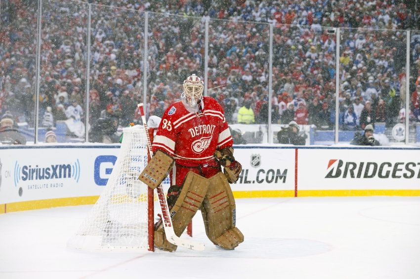 8eec167bb The 2014 Winter Classic at the Big House is perhaps the most picturesque NHL  game to ever be played