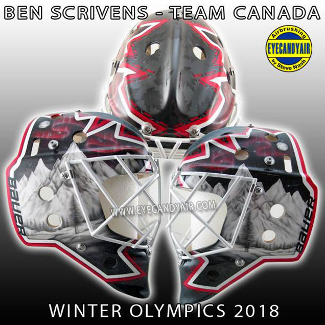 HbD Masks: 2018 Men's Olympic Masks | Hockey By Design
