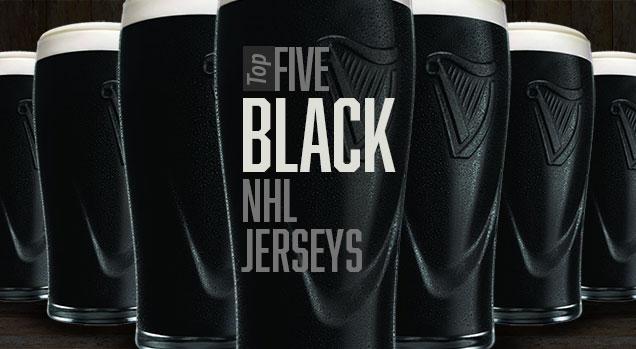 black nhl jerseys