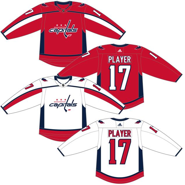 best service e2cc0 1bb1a Worst to First Jerseys: Washington Capitals | Hockey By Design