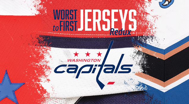db54f0748de This installment of the Worst to First Jerseys features the Washington  Capitals. Worst to First Jerseys is an on-going series, covering all the  jerseys worn ...