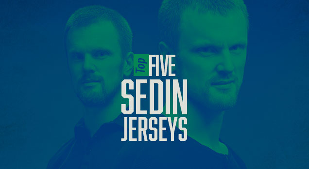 online retailer bbdab 64914 Top 5: Sedin Jerseys | Hockey By Design